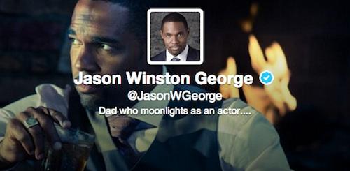 Twitter de Jason George