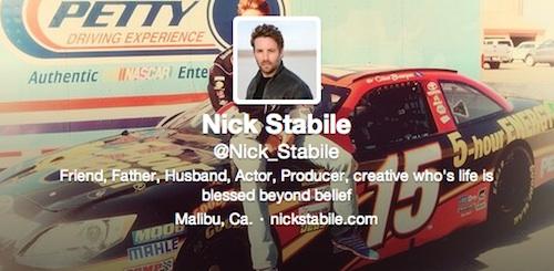 Twitter de Nick Stabile