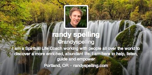 Twitter de Randy Spelling