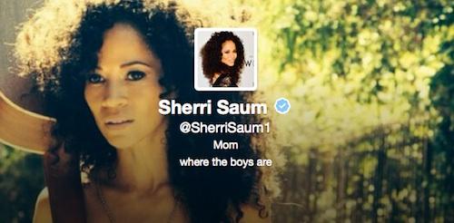 Twitter de Sherri Saum
