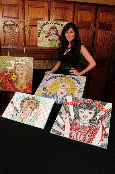 Lisa Guerrero mosaïques